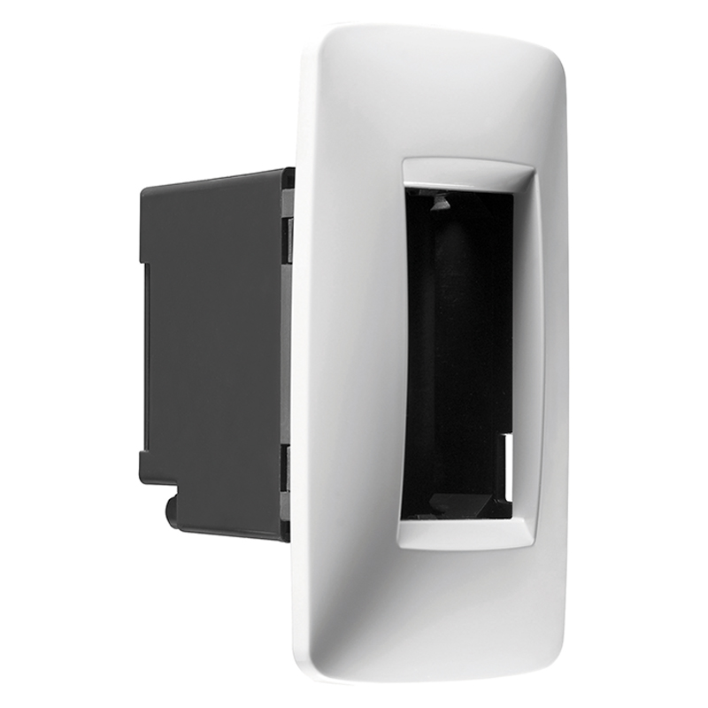 gw16712tb plates for profiles panels 2 gang white. Black Bedroom Furniture Sets. Home Design Ideas