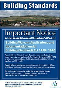 Building Warrant Regulations Scotland